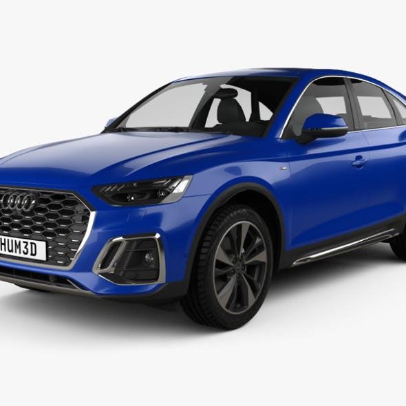 Audi Q5 Sportback S-line 2020 - 3DOcean Item for Sale