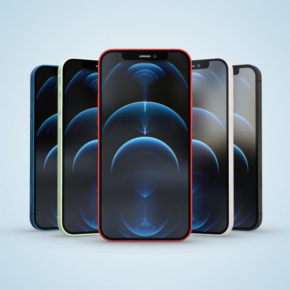 iPhone 12 all color