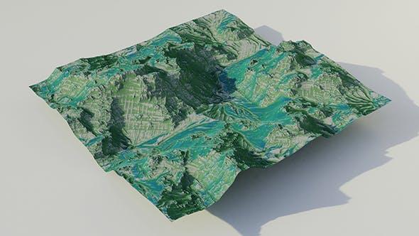 Hope is Green Terrain 2K - 3DOcean Item for Sale