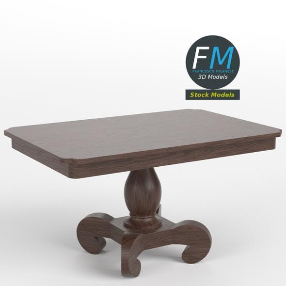 Table desk 5 - 3DOcean Item for Sale