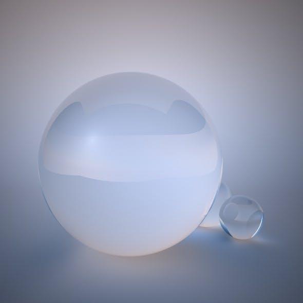 VrayforC4D Glass Material