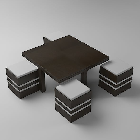Dinning Table - 3DOcean Item for Sale