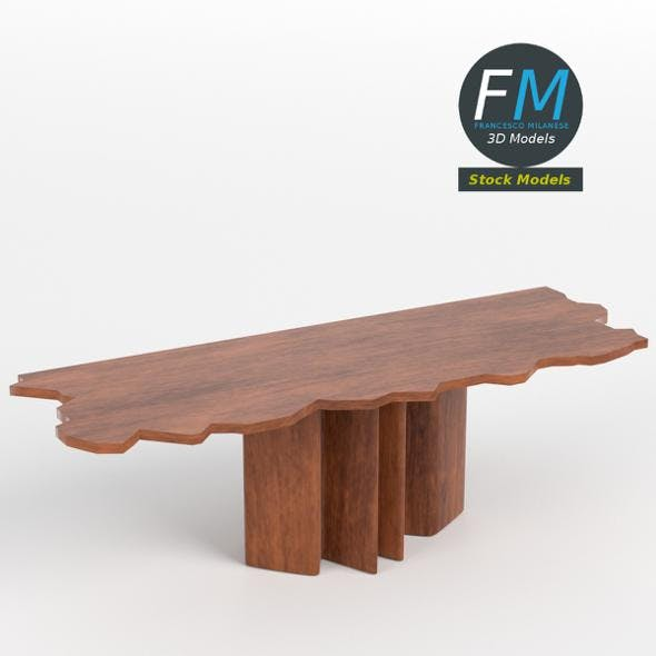Table desk 7 - 3DOcean Item for Sale