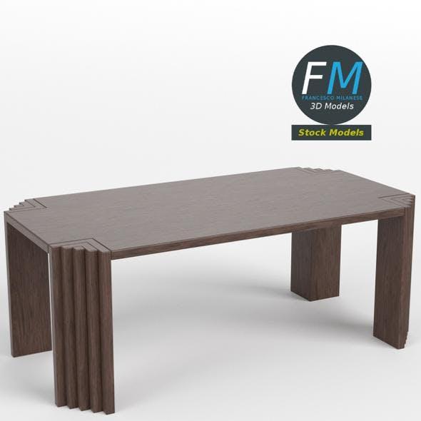 Table desk 8 - 3DOcean Item for Sale