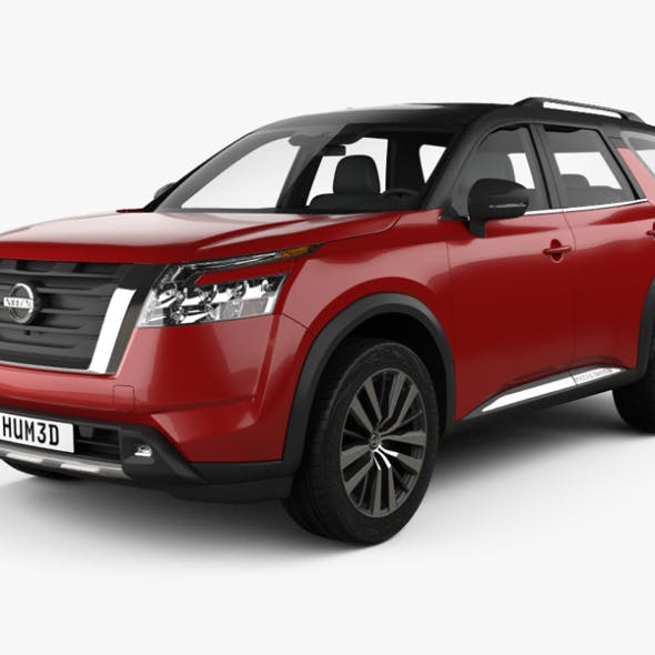 Nissan Pathfinder Platinum 2022 - 3DOcean Item for Sale