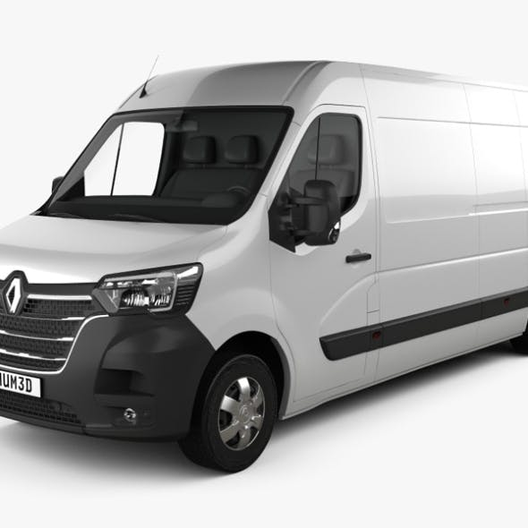 Renault Master Panel Van L3H2 2019 - 3DOcean Item for Sale