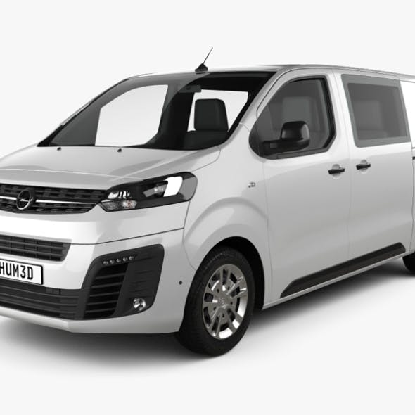 Opel Vivaro Crew Van L2 2019 - 3DOcean Item for Sale