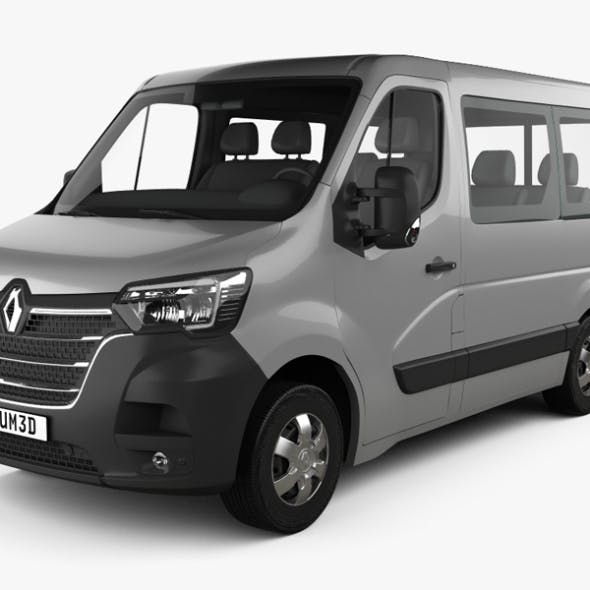 Renault Master Passenger Van L1H1 2019 - 3DOcean Item for Sale
