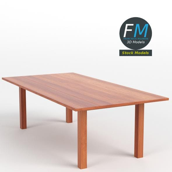 Table desk 17 - 3DOcean Item for Sale
