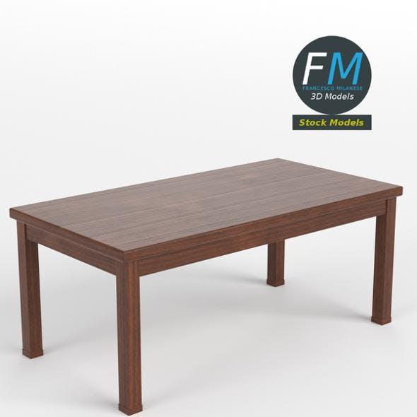 Table desk 18 - 3DOcean Item for Sale