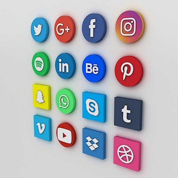 Social Media Icons Social Media Logo