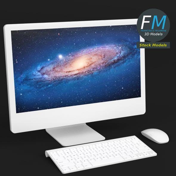 iMac computer - 3DOcean Item for Sale
