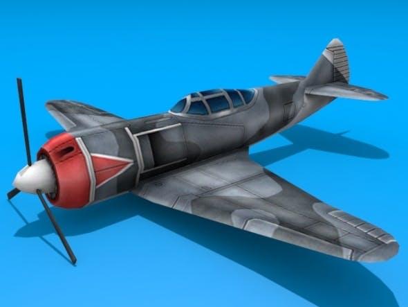 Lavochkin LA-5 - 3DOcean Item for Sale