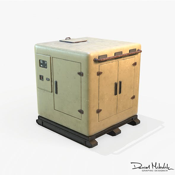 Electric Box PBR - 3DOcean Item for Sale