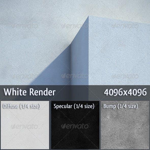 White Render - 3DOcean Item for Sale