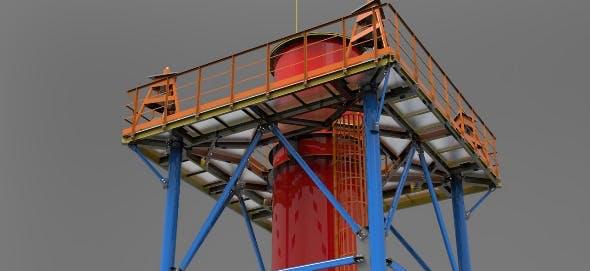 Huge oil plant pipe - 3DOcean Item for Sale