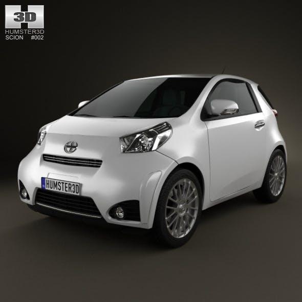 Scion iQ 2012 - 3DOcean Item for Sale