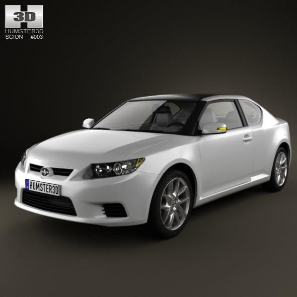 Scion tC 2012 - 3DOcean Item for Sale