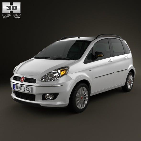 Fiat Idea 2012 - 3DOcean Item for Sale