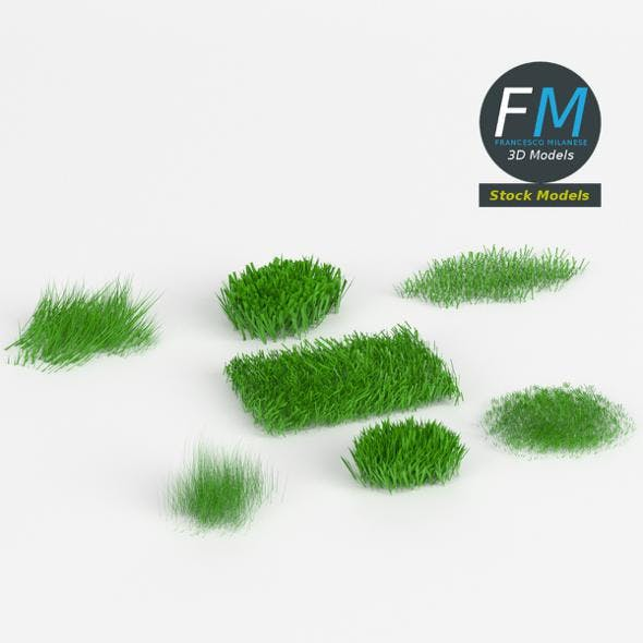 Grass weed pack - 3DOcean Item for Sale
