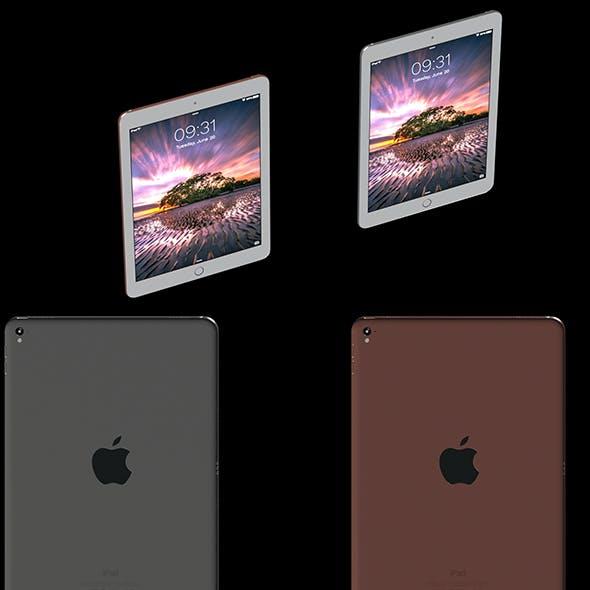 iPad Air  Rose-Gold and gray
