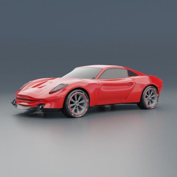 Eterox sportscar concept - 3DOcean Item for Sale