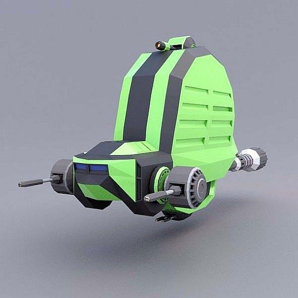 Snailiox spaceship concept - 3DOcean Item for Sale