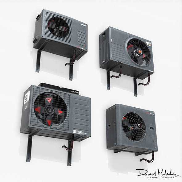 Sci-fi Air conditiong PBR