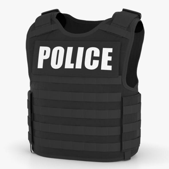 Bulletproof Vest - 3DOcean Item for Sale
