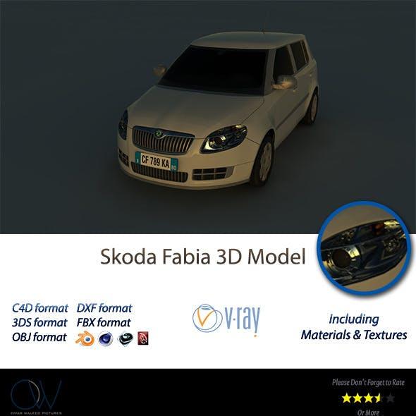 Skoda Fabia 3D Model