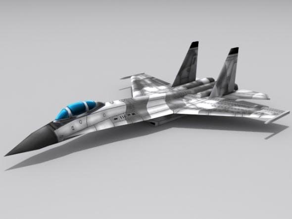 Su-30 Flanker - 3DOcean Item for Sale