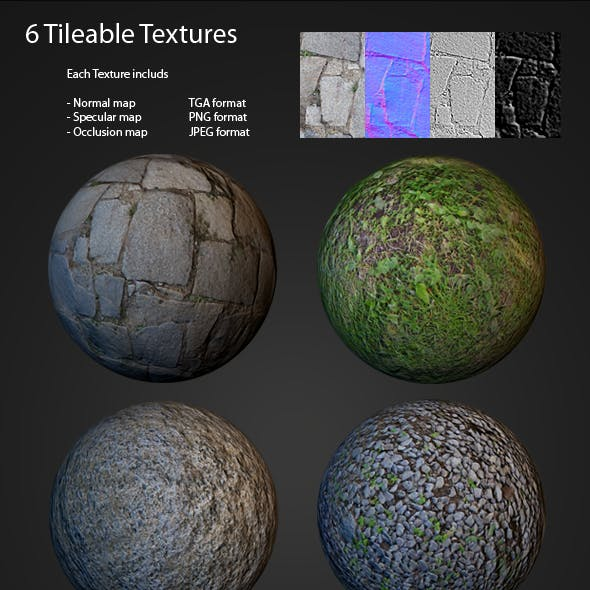 Tileable texture pack