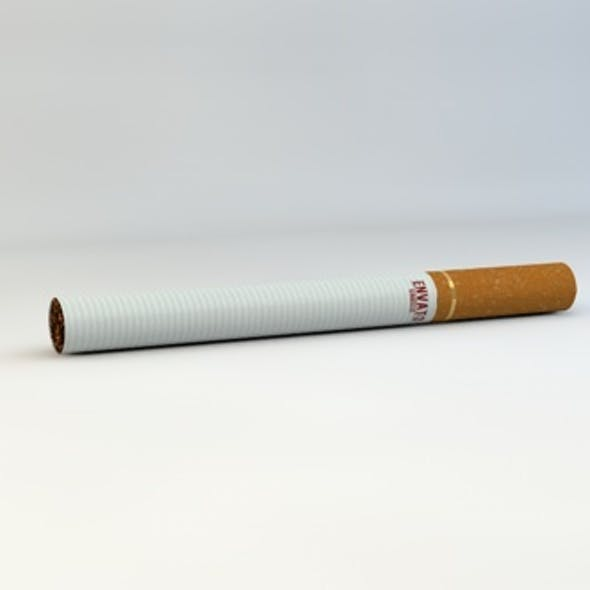 Realistic Cigarette Model
