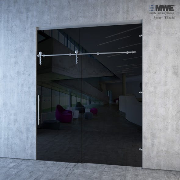 "MWE ""Klassic"" Sliding door system - 3DOcean Item for Sale"