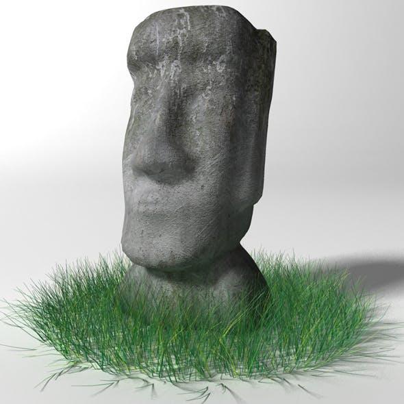 Moai statue - 3DOcean Item for Sale