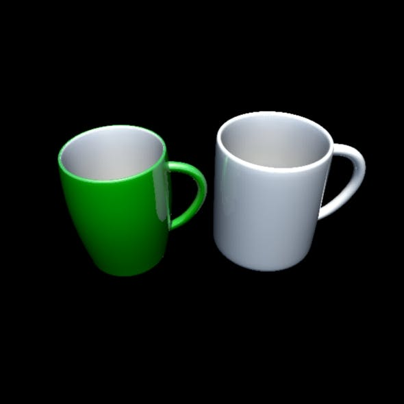 Coffe Mug - 3DOcean Item for Sale