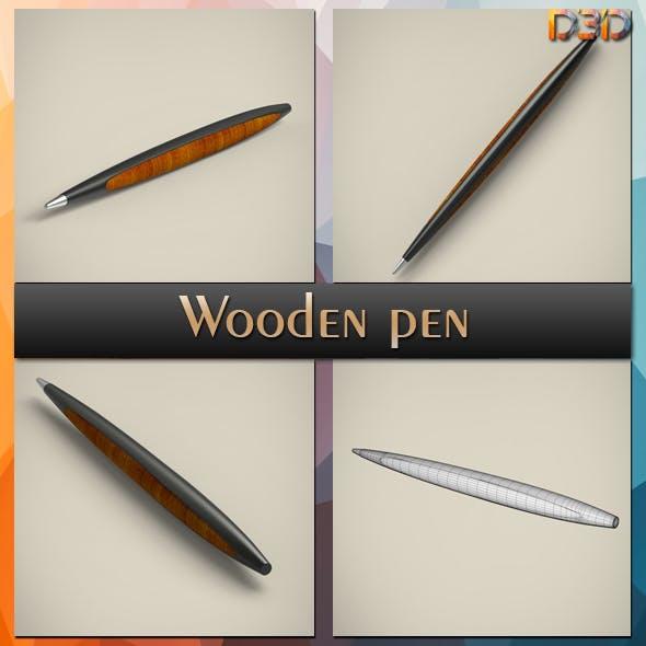 Wooden pen - 3DOcean Item for Sale