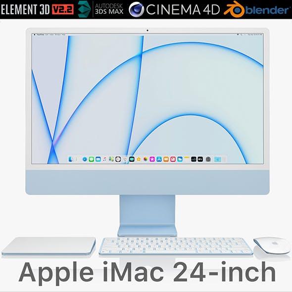 Apple iMac 24-inch 2021 full set 1