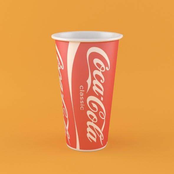 Coca Cola Paper Cup