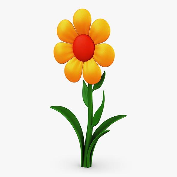 Cartoon Flower v 4 - 3DOcean Item for Sale