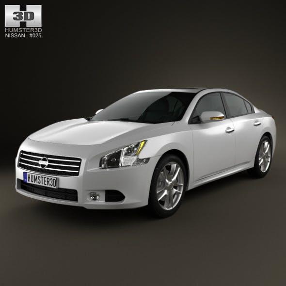 Nissan Maxima 2012 - 3DOcean Item for Sale