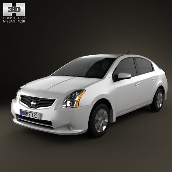 Nissan Sentra 2012 - 3DOcean Item for Sale
