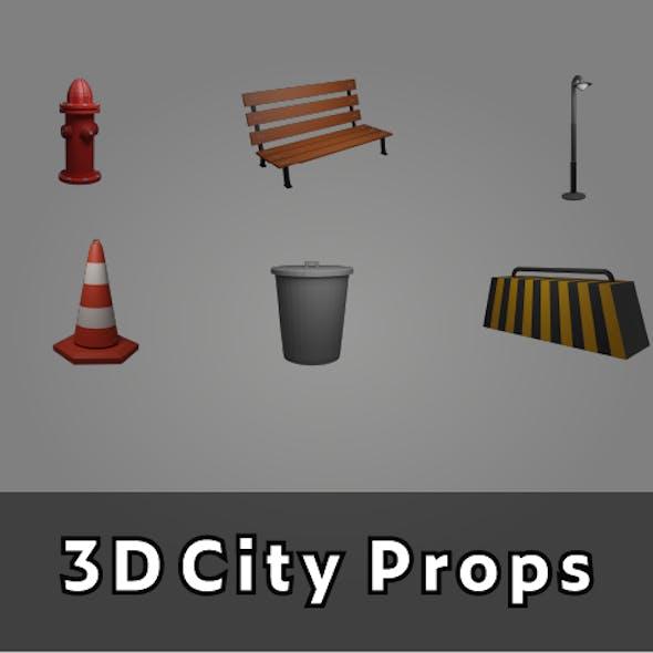 3D City Props