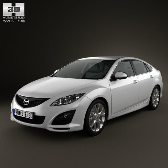 Mazda 6 Sedan 2011 - 3DOcean Item for Sale