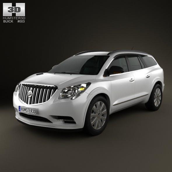 Buick Enclave 2013 - 3DOcean Item for Sale
