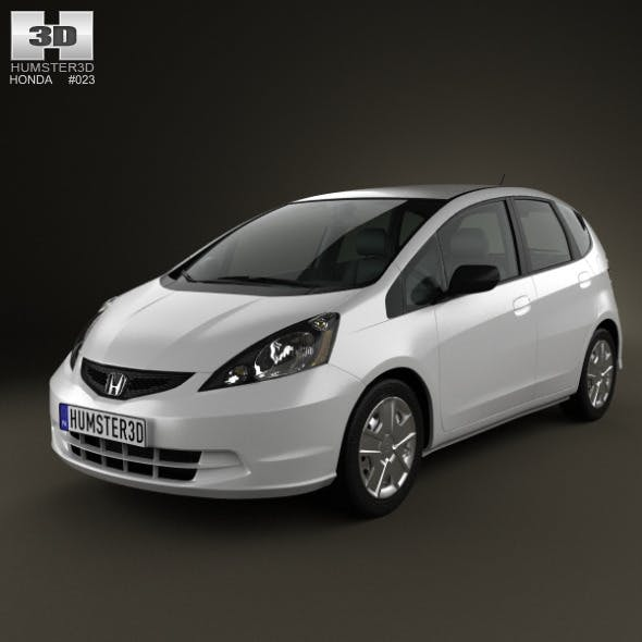 Honda Fit (Jazz) Base 2012 - 3DOcean Item for Sale