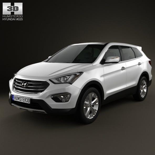 Hyundai Santa Fe 2012 - 3DOcean Item for Sale