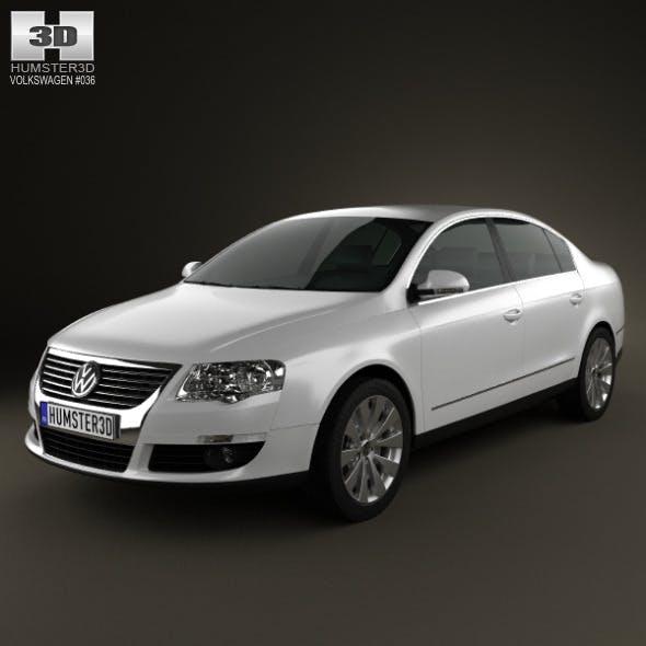 Volkswagen Passat B6 2005 - 3DOcean Item for Sale