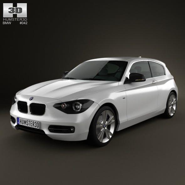 BMW 1 Series (F20) 3-door 2012 - 3DOcean Item for Sale
