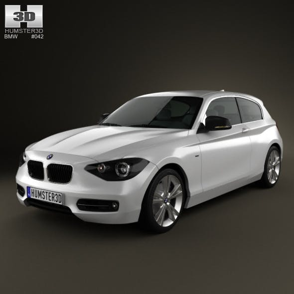 BMW 1 Series (F20) 3-door 2012